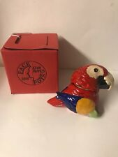 Kevin Francis Face Pot Roxy the Parrot. New with a box