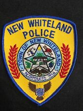 NEW WHITELAND POLICE PATCH--B03
