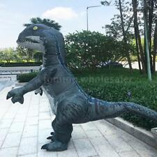 Adults Dinosaur Inflatable Costume Props Blow Up Inflatable Fancy Dress O6U3