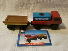 Thomas Wooden Lorry with Flatbed/NEW/RETIRED/2001