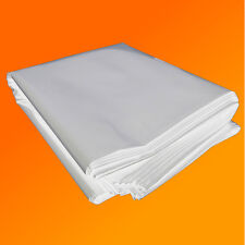 4M X 3M 250G CLEAR HEAVY DUTY POLYTHENE PLASTIC SHEETING GARDEN DIY MATERIAL