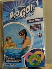 Kids Swim Ring Ages 3-6 Pool Float  green