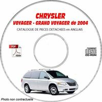 VOYAGER 04 - Catalogue Pieces CDROM CHRYSLER Anglais Expédition - --, Support -