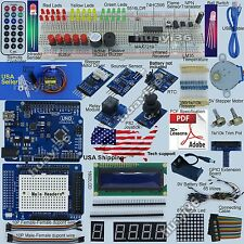 New Ultimate Starter Kit (Arduino UNO R3 -Compatible) Servo Motor RTC USA Seller