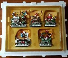 Danbury Mint M&M Christmas Holiday Express 5 Piece Train Set: New, Never Opened