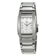 Tissot T-10 White Dial Stainless Steel Ladies Watch Ladies Watch T0733101101700