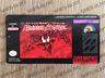 Spider-Man Venom Maximum Carnage Super Nintendo Cartridge Replacement Game Label