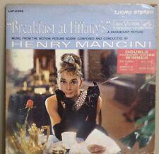 "1961 Henry Mancini - ""Breakfast at Tiffany's"" Vinyl RCA LPM/LSP-2362 Dick Peirce"