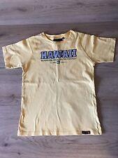 Chicos edad 10 Amarillo Camiseta Quiksilver.