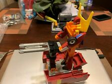 Rodimus Prime Almost Complete 1986 Vintage Hasbro G1 Transformers Japan