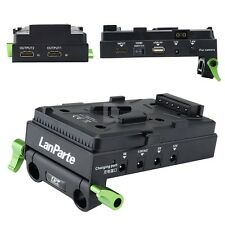 LanParte V-Mount BP Battery Power Supply Adapter 5v 7.2v 12V 15V I F sony BP