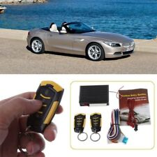 12V Car Auto Alarm Remote Central Door Locking Vehicle Keyless Entry System Kit