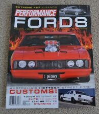 Performance Fords magazine - Falcons, Mustang