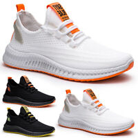 Men's Athletic Sneakers Sports Running Casual Tennis Shoes Breathable Trainers