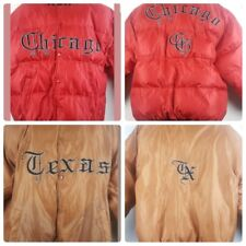 Vision Sportswear Chicago Texas Reversible Goose Down Baseball Jacket XL J13