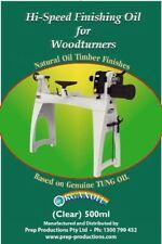 Hi Speed Finishing Oil for Woodturning Lathe