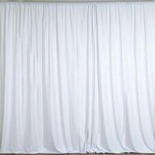 10 feet x 10 feet Polyester Backdrop Drapes Curtains Panels w/ Rod Pockets