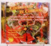 Christmas Is Coming + CD + Weihnachten + Stimmungsvolles Weihnachtsalbum +