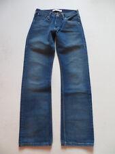 Levi's 506 Jeans Hose, W 27 /L 32, wie NEU ! faded washed Denim, Yellow Label !