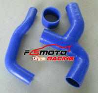 Silicone Intercooler Hose Y PIPE For Subaru Impreza WRX GDA GDB GG 00-2007 blue