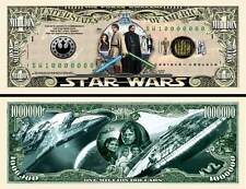 Star Wars Force Awakens Million Dollar Bill Collectible Funny Money Novelty Note
