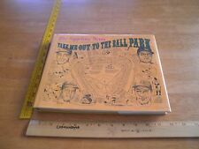 Take me out to the Ball Park baseball signed Lowell Reidenbaug HBDJ book 1983 1s