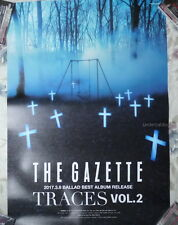 the GazettE TRACES VOL.2 Japan Promo Poster