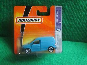 MATCHBOX 06 VOLKSWAGEN CADDY (LOT P38) CAR MINT CARD OPENED