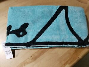 "Hollister Beach Towel 30""x 60""  100% Cotton Yellow, Pick and Blue New with Tag!"