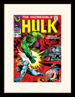Hulk Framed Prints Classic Marvel Comic Covers 4 Different