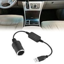 USB Power Konverter Stecker auf 12v Auto Zigarettenanzünder Buchse Adapterkabel