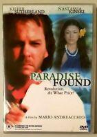 Paradise Found (Kiefer Sutherland) DVD Paul Gauguin Artist Themed Bio Movie 2003