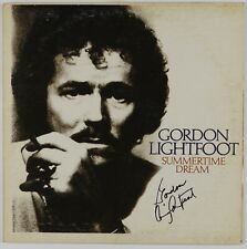Gordon Lightfoot JSA Signed Autograph Record Album SummerTime Dream