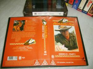 BUSH TUCKER MAN Series 2 - Les Hiddins - 7 Episodes (1990) - ABC Video VHS Issue