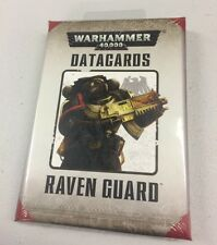 Games Workshop WARHAMMER GUARDIA DEL CORVO schede dati Datacards SIGILLATO