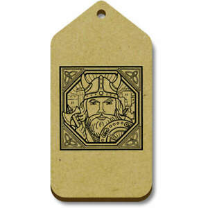'Square Viking Motif' Gift / Luggage Tags (Pack of 10) (TG007237)