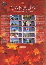 2017 - Canada : Celebrating 150 Years - Smilers Sheet - CSS-035
