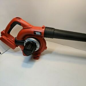 Black & Decker LSWV36 Bare Tool only Cordless Leaf Blower Sweeper Tested Works