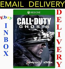 Call of Duty Ghosts + DLC no season pass Xbox One Full Digital Game DOWNLOAD KEY