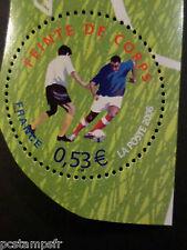 FRANCE 2006, timbre 3914, SPORT, FOOTBALL, FEINTE DE CORPS, neuf**, MNH STAMP