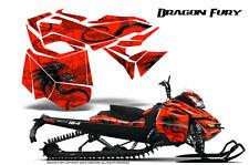 SKI-DOO REV XM SUMMIT SNOWMOBILE CREATORX GRAPHICS KIT DRAGON FURY RED
