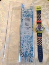 orologio SWATCH scuba 200 anni 90  vintage clock regarder uhr ver