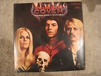 Coven: Witchcraft Destroys Minds & Reaps Souls SUPER RARE PROMO vinyl LP