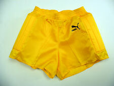 * Vintage Puma Goalkeeper shiny nylon Shorts glanz sporthose West Germany