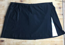 Women's Nike Dri-Fit Black & White Tennis Golf Skirt - Size Large