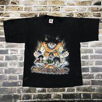 Vtg Dragon Ball Z T Shirt - Kids Youth XL - Distressed