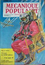 REVUE MECANIQUE POPULAIRE N° 057 HELICOPTERE PARACHUTISTE ROULOTTE ORIENT 1951