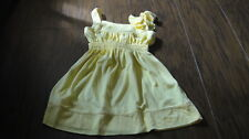 NWOT NEW JUICY COUTURE 2 2T YELLOW DRESS