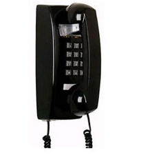Black Retro Wall Mountable Hanging Telephone Phone Bell Ringer Vintage 25402