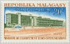MADAGASCAR MALAGASY 1967 569 402 Ministry Equipment & Communication Building MNH